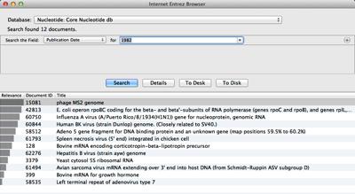 Internet Entrez Browser