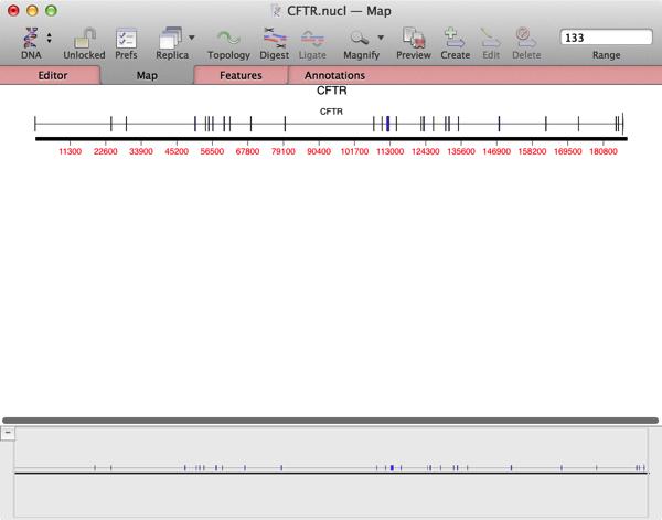 CFTR CDS segmentedhollowarrowMap