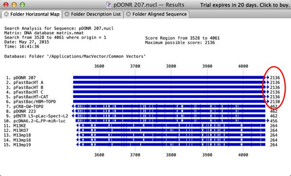 PDONR 207 Results